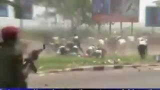 Kabila tue son peuple en rd congo Kinshasa