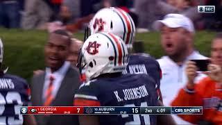 Auburn Football vs Georgia Highlights