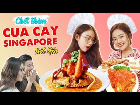 Vào Bếp Cùng Hải Yến : Schannel chết thèm với món Cua cay Singapore ! - Thời lượng: 15:15.