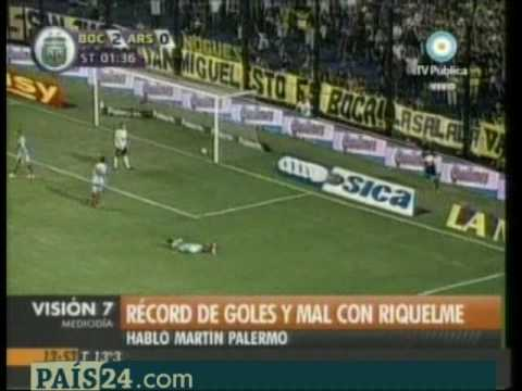 Video Juan Roman Riquelme declaraciones Palermo