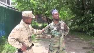 American Soldiers Vs Nigerian Soldiers Speed Test