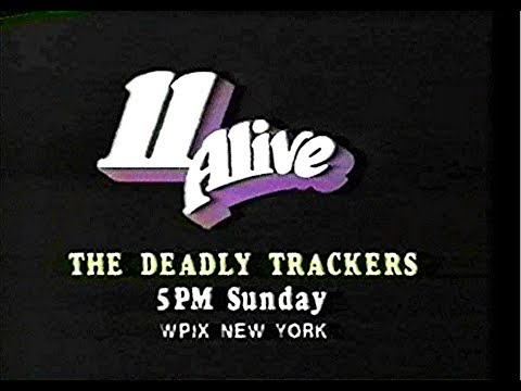 WPIX Promo (The Deadly Trackers) with Glitch, 1981