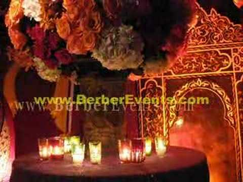 Moroccan Jewish Henna Wedding Tent at The Mandarin Oriental Hotel, Miami
