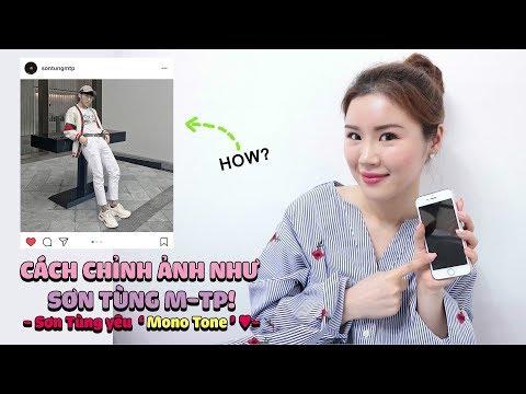 """Cách chỉnh ảnh như SƠN TÙNG M-TP! - Sơn Tùng yêu """"Mono Tone ♥"""" - Thời lượng: 5:30."""