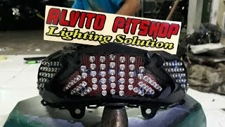 Video Custom Stoplamp Vario 150 / Vario 125 Led MP3, 3GP, MP4, WEBM, AVI, FLV November 2018