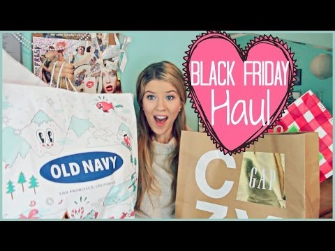 haul - WATCH MY BLACK FRIDAY VLOG: http://www.youtube.com/watch?v=6StbYYiEbdI&feature=youtu.be I'm going to be vlogging EVERY DAY OF DECEMBER for #Vlogmas on my sec...