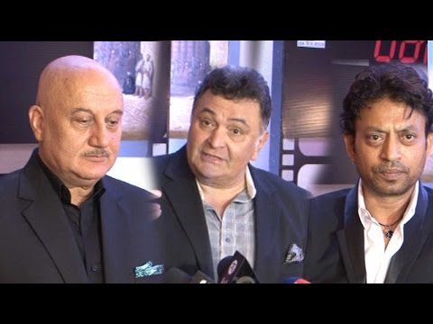 Anupam Kher, Rishi Kapoor, Irrfan Khan And More Ac