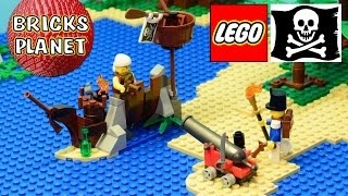 Shipwreck Defense 70409 LEGO Pirates - Review, Stop Motion, Time-Lapse Build