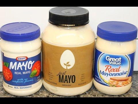 Mayonnaise Blind Taste Test: Kraft, Hampton Creek (Vegan) & Great Value