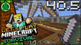 Minecraft: Pocket Edition Survival Let's Play E40.5 - World Download #2 [FIXED]