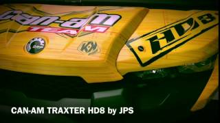 8. CAN-AM TRAXTER HD8 defender hd10