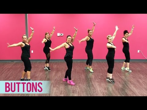 The Pussycat Dolls - Buttons Ft. Snoop Dogg (Dance Fitness With Jessica)