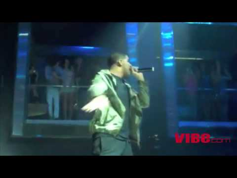 VIBE TV: Drake - Money to Blow @ AXE Lounge Super Bowl Weekend