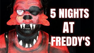 FOXY (FIVE NIGHTS AT FREDDY'S MAKEUP TUTORIAL) by Kat Sketch