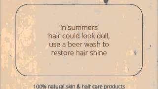 Natural Hair Care for Summers