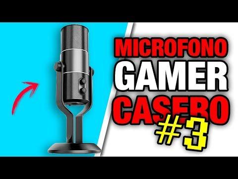 Videos caseros - Haz un MICROFONO GAMER CASERO de ALTA DEFINICION *PARTE 3 Muy Fácil* ! Pablo Inventos