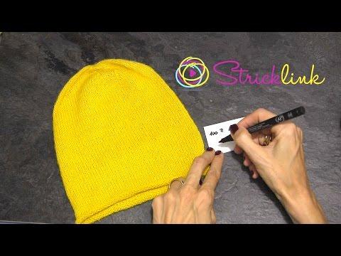 Mütze stricken für den Übergang 2. Teil