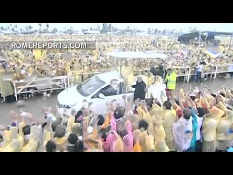 Video - Los mejores momentos del Papa en Filipinas