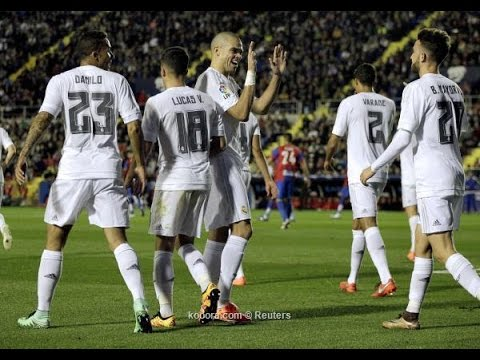 Levante UD Vs Real Madrid 1-3 All Goals & Highlights 2-3-2016