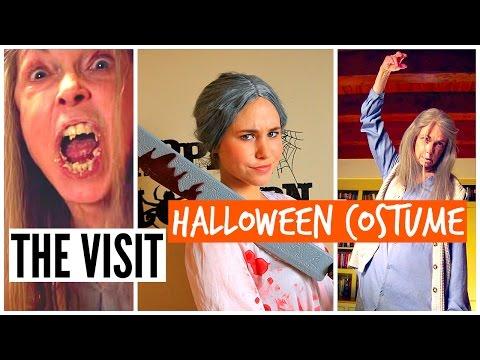 DIY HALLOWEEN COSTUME 2015: THE VISIT Scary Grandma 2015