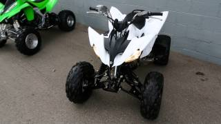 10. 2011 Yamaha Raptor 250R White w/ Full FMF
