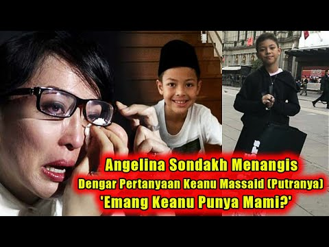 Pecahh!!! Selama Ini Dikenal Tegar, Angelina Men4ngiiis Tak Karuan Saat Dengar Pertanyaan Sang Putra
