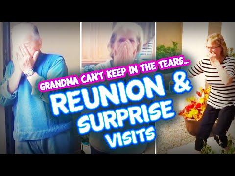 Emotional Grandparents Surprise Visit Compilation | Surprise Reunions!!