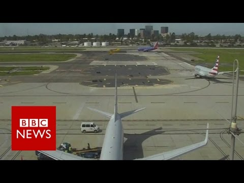 Harrison Ford: 'I'm the schmuck that landed on the taxiway' - BBC News (видео)