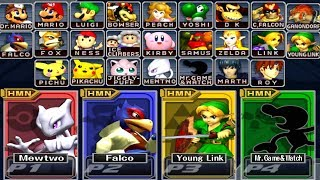 Video Super Smash Bros Melee - How to Unlock All Characters MP3, 3GP, MP4, WEBM, AVI, FLV Juli 2019