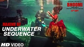 Bhoomi: Making Of Underwater Sequence | Sanjay Dutt, Aditi Rao Hydari, Sharad kelkar |