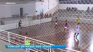 Noite emocionante pela Copa Record de Futsal Masculino em Piedade