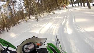 6. 2013 Arctic Cat XF 1100 Turbo Snow Pro 177 HP Smooth Review
