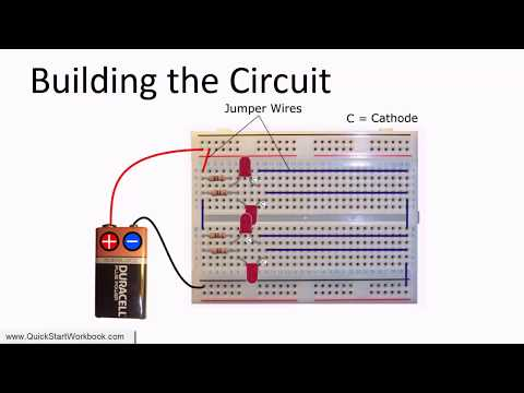 How to Connect Multiple LEDs in Parallel - Electronics for Absolute Beginners