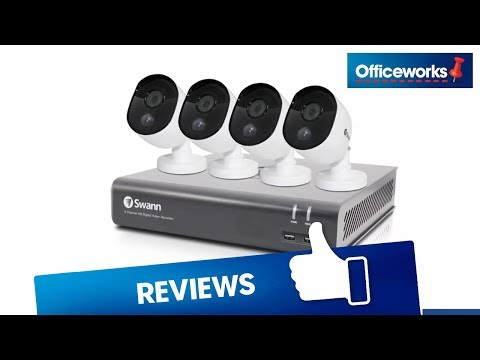 Swann 4 Channel Security System DVR4 4580