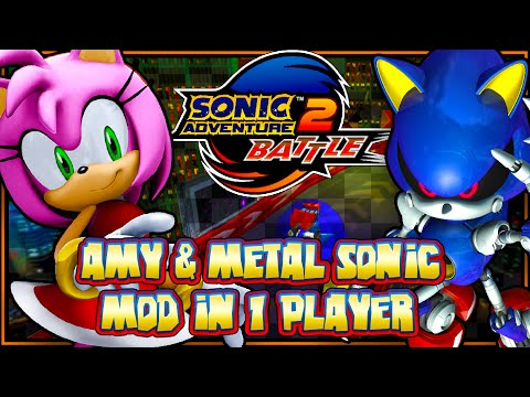 Sonic Adventure 2 Battle PC - Amy & Metal Sonic Mod In Single Player