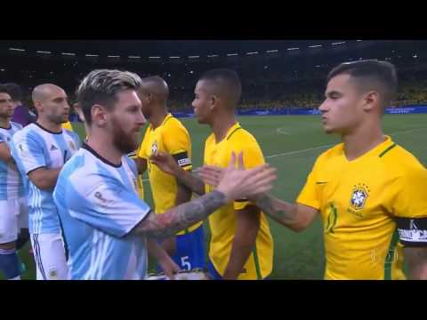 Full Match   Brazil Vs Argentina   2018 Fifa World Cup Qualifiers   11 10 2016   YouTube