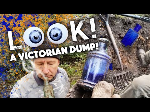 EYEBALLS, potions and gross smells all dug from the Victorian dump!