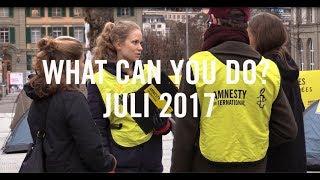 """***Taner Kiliç und Idil Eser***- Online Petition: https://www.amnesty.ch/de/laender/europa-zentralasien/tuerkei/dok/2017/petition-taner-kilic/aktion- Petitionsbogen zum ausdrucken: https://extranet.amnesty.ch/de/kampagnen/themen-und-aktionen/2017/freiheit-fuer-taner-kilic/petition-taner-kilic-und-idil-eser.pdf- Solidaritätspostkarten für Taner Kiliç: https://extranet.amnesty.ch/de/kampagnen/themen-und-aktionen/solidaritaets-postkarten-fuer-kilic****** Neue I Welcome Petition*** I choose to save lives- Online Petition: https://www.amnesty.ch/de/themen/asyl-und-migration/festung-europa/dok/2017/petition-retten-wir-leben-im-mittelmeer/aktion- Petitionsbogen zum ausdrucken: https://extranet.amnesty.ch/de/kampagnen/prioritaere-kampagnen/i-welcome/i-welcome/petition_papier_de.pdf** Schoggi Film Abende- Konzernverantwortungsinitiative*** Bestelle hier den Film """"Schmutzige Schokolade: https://shop.amnesty.ch/film-schmutzige-schokolade.html - Weitere Infos : https://extranet.amnesty.ch/de/kampagnen/prioritaere-kampagnen/konzernverantwortungsinitiative#schokolade***www.amnesty.ch/youth***Music: bensound"""