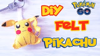 "Hello everyone! ♥︎ In this video I'll show you How To Make Felt Pikachu Key Chain!For this awesome Do-It-Yourself project you will need: Felt (Yellow, Red, Black, Brown and White piece), Pencil, Scissors, Glue, Needle & Thread. Follow my video instructions and you'll easily make cute Pikachu yourself.LETS GET THIS TO 100 LIKES?! Can we do it??If you need Pikachu pattern - http://goo.gl/8hnca9Follow me:✴TWITTER - https://twitter.com/DianataRose✳INSTAGRAM - http://instagram.com/dianatarose✴FACEBOOK - https://www.facebook.com/dianatarose✳My Life Channel - https://goo.gl/bTjqmB✴BLOG - http://dianatarose.blogspot.com/✳PINTEREST - https://www.pinterest.com/DianaTaRose/✴GOOGLE PLUS - https://goo.gl/NYKCeN======================================Hey, I'm Diana, from Georgia Country. I make videos about DIY projects, MakeUp Transformation, VLogs and basically anything that I love. I hope, that my channel inspiring you and give you some cool ideas, as like you inspiring me for making more and more beautiful videos! ❤======================================*** Your ""Thumbs Up"" and Subscription inspire me to make other beautiful videos! Thank you all for your support!psst.. If you're currently reading this... Leave a comment below saying""Pika Pika Love your DIY-ka! :))))"