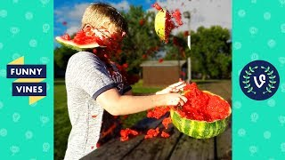 Brand new weekly compilation video of the best Rubberband Exploding Watermelon Challenge videos! Want to be Featured?Submission Form: http://goo.gl/forms/8QtvEVqZsgrNbEWu1Check our more Vine Compilations ► https://www.youtube.com/watch?v=NIJFI47CQG4&list=PL3XWaf_tBkumWce7af8_ckuZbNXaNeCg3&index=2Subscribe for more Funny Vines ► https://www.youtube.com/user/VineAholic?sub_confirmation=1