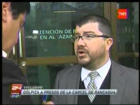 Defensoría Regional de O'Higgins denuncia ante el INDH golpiza de gendarmes a internos de cárcel
