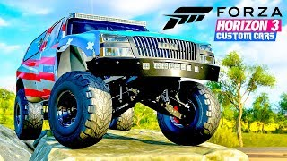 "In this episode of Forza Horizon 3 Custom Cars, I build up the bonkers off road monster known as the ""Loki"" K5 Blazer from the Hoonigan DLC/car pack!Hoonigan DLC Custom Cars playlist - https://www.youtube.com/watch?v=w-427PX40aQ&t=15s&list=PLnufI_bGe5jf1isrqQOPpYpNVXSnes2gR&index=55Subscribe if your new & hit the notification so that you don't miss any of my future videos! ― https://www.youtube.com/user/EKDrifter458My Twitter ― https://twitter.com/EKDrifter458Facebook ― https://www.facebook.com/EKDrifter458Facebook Fan Group ―https://www.facebook.com/groups/112905172241363/My Instagram ― https://www.instagram.com/drift_panda_official/Patreon ― https://www.patreon.com/EKDrifter458Intro Song ― I Took A Pill In Ibiza (Seeb Remix) by Mike PosnerOutro Song ― In My Head by GalantisThank you very much for watching guys & have yourself a wonderful day :)"