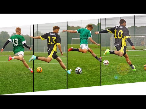 THE Football Free Kick Battle%3A freekickerz x Unisport feat. Joltter