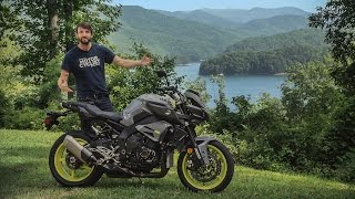 3. 2017 Yamaha FZ-10 on The Dragon! First Ride Review | On Two Wheels