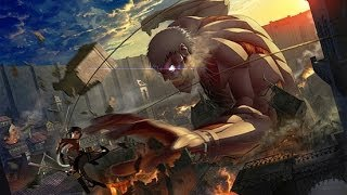 Armored titan theme from Shingeki no kyojin OST (Mika Kobayashi) HD