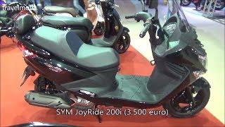 5. The SYM JoyRider 200i Scooter (2017)