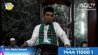 Video Kuliah Dhuha bersama Ust. Abdul Somad di Masjid Sunda Kelapa MP3, 3GP, MP4, WEBM, AVI, FLV Juni 2018