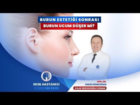 Burun Estetiği Sonrası Burun Ucum Düşer Mi? - Opr. Dr. Onur Gündoğan - İzmir Ekol Hastanesi