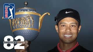 Tiger Woods captured his fifth-straight PGA TOUR victory in the Deutsche Bank Championsh by PGA TOUR