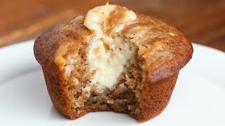 Chai-Spiced Cheesecake Muffins by Tasty